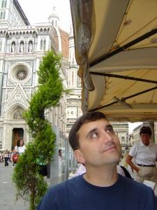 Mark staring at nothing